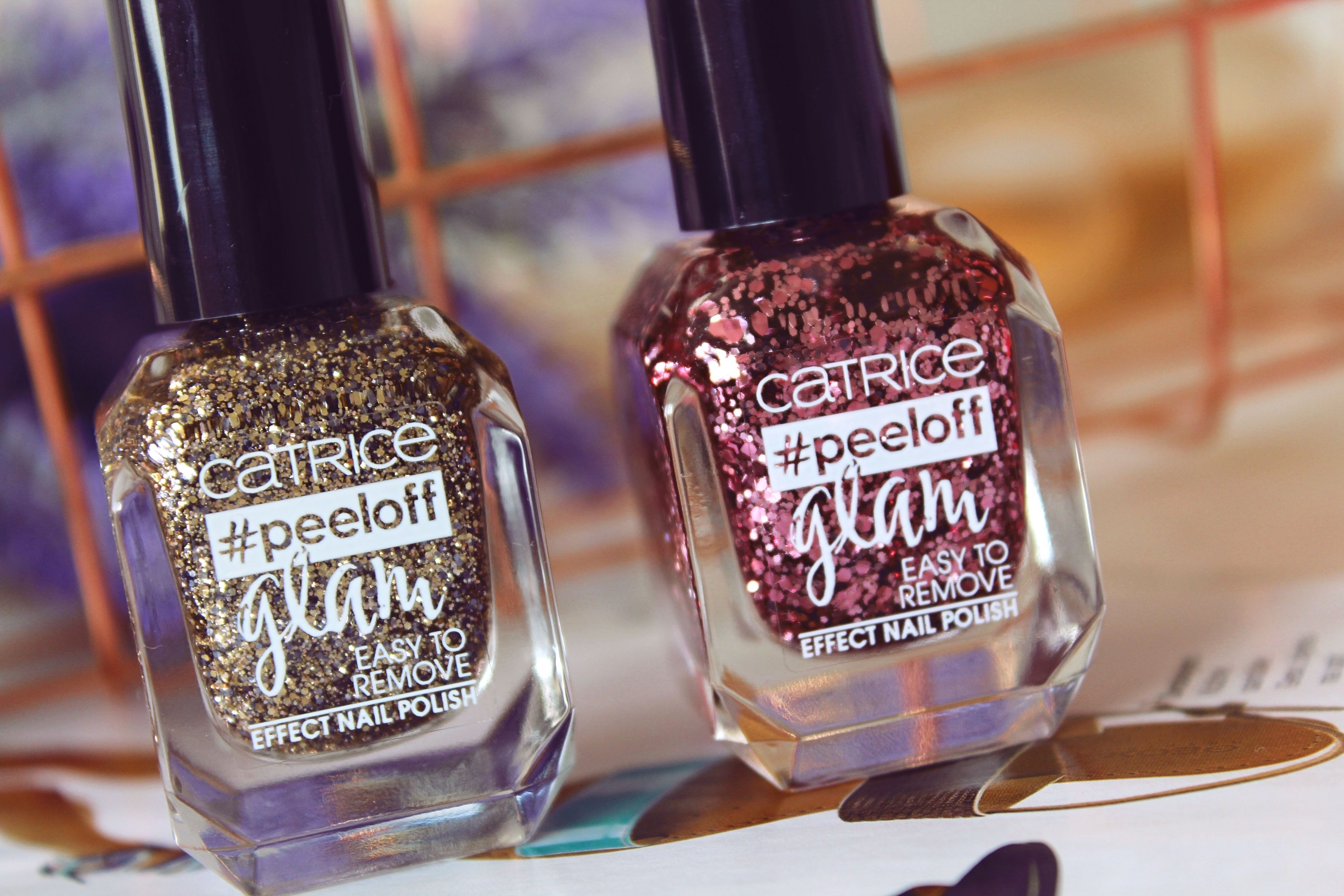 Catrice Peeloff Glam Easy To Remove Effect Nail Polish Review Recenzija Simple Serenity