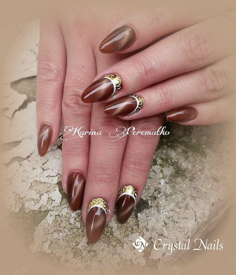 Tiger Eye Crystalac Gel Polish New Product 2014 Eye Nail Art Glitter Nail Art Crystal Nails