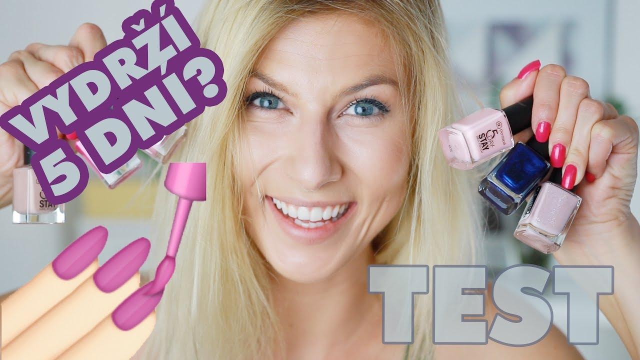 Test Dermacol 5 Day Stay Longlasting Nail Polish Lenka Youtube