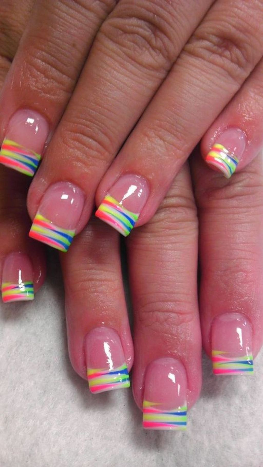 40 Cute Summer Nails Designs Ideas Duhove Nehty Design Nehtu Neonove Nehty