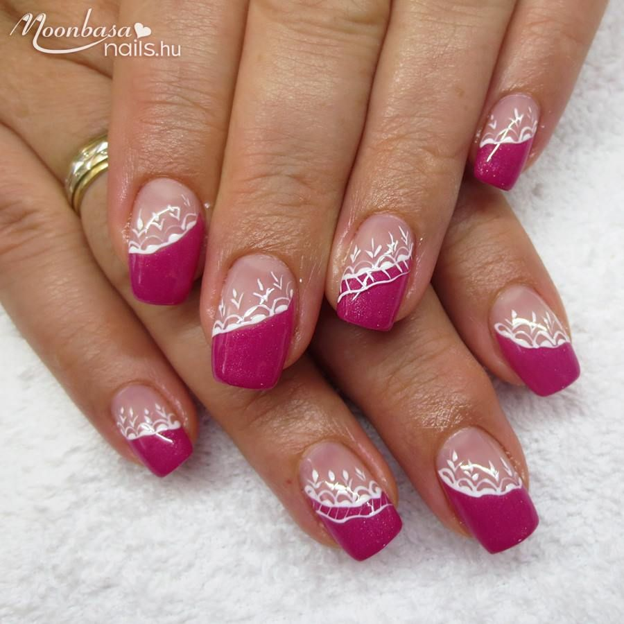 A Pink Szinek Kedveloinek Nail Designs Spring Nail Art Square Nails