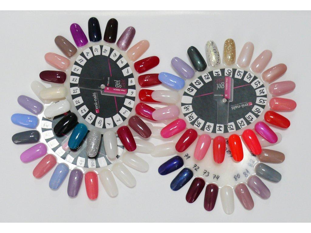 Vzorkovnik Gel Lak Enii Nails