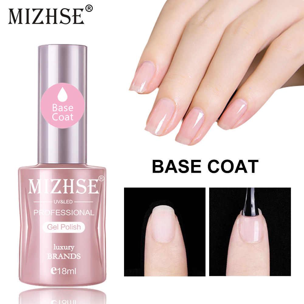 Mizhse Uv Base Coat Nail Gel Polish Uv Led Gellak Primer 18ml Soak Off Gel Polish Base For Nail Primer Everything For Manicure Aliexpress
