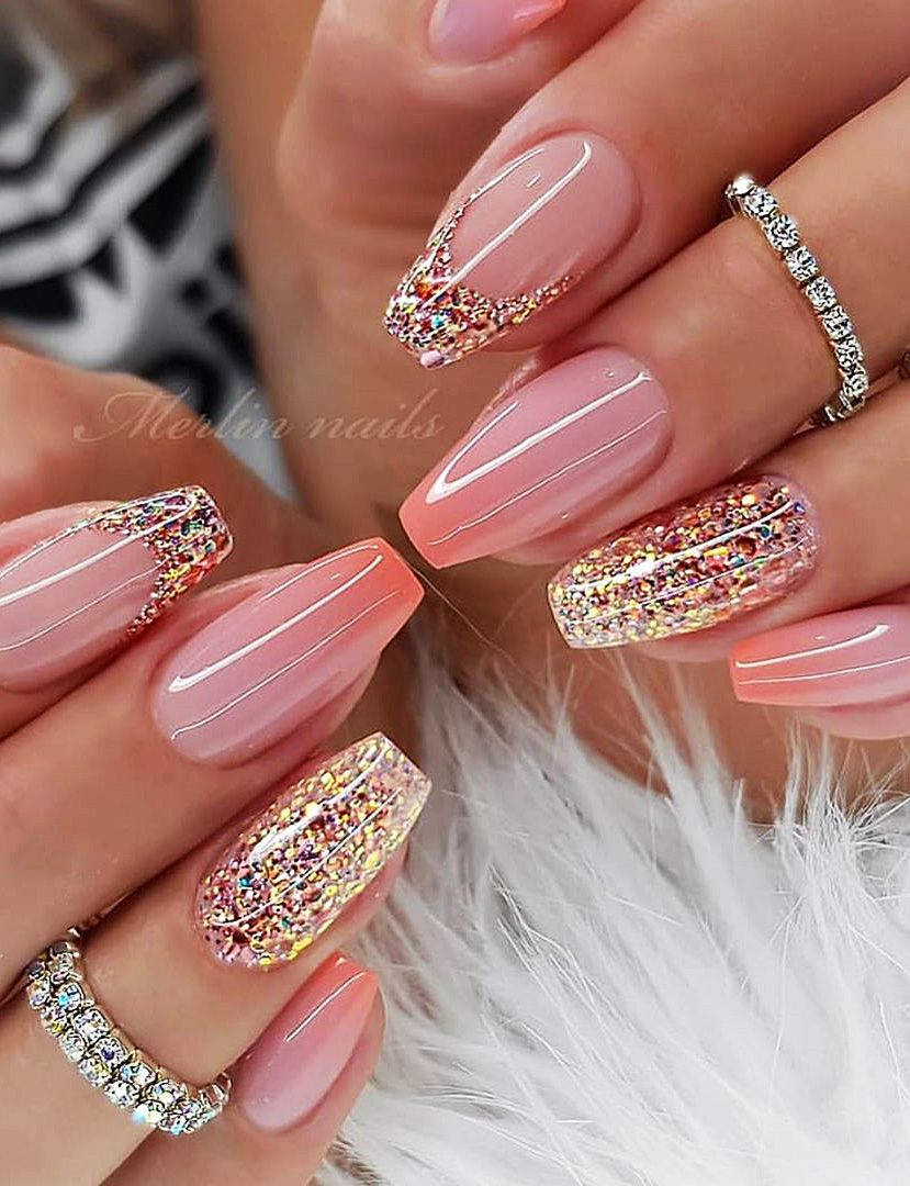 Top 100 Acrylic Nail Designs Of May 2019 Page 63 Of 99 In 2020 Ombre Nehty Gelove Nehty Design Nehtu