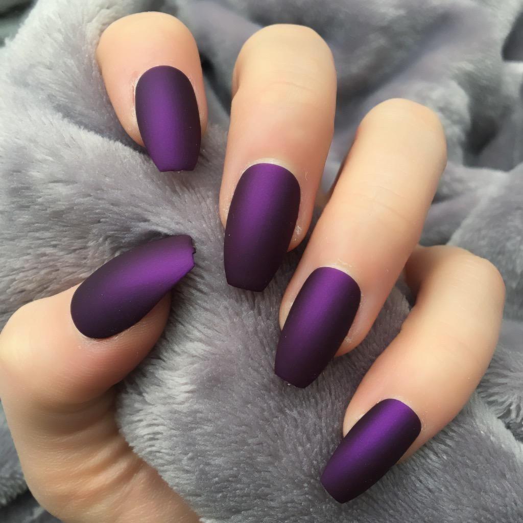 36 Charming Winter Nail Art Design For Women Fashion Gelove Nehty Matne Nehty Design Nehtu