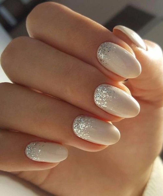 47 Creative Wedding Nails Ideas For Bride Gelove Nehty Umele Nehty Svatebni Nehty