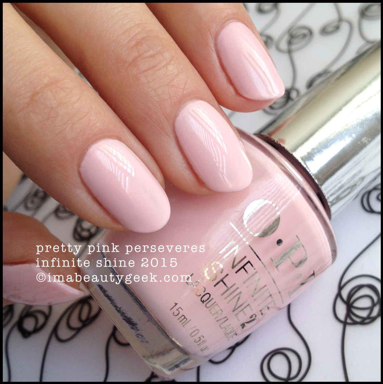 Opi Infinite Shine Swatches Pink Nails Opi Nails Opi Pink Nail Polish