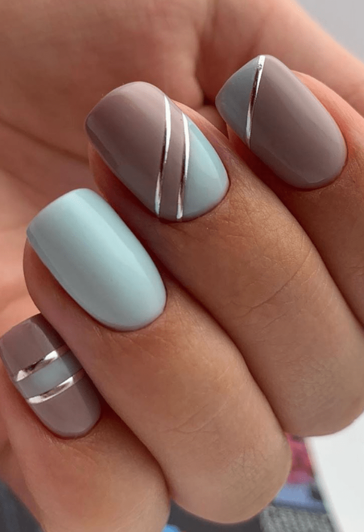 Cool Short Nail Designs Ideas You Must Love24 In 2020 Short Square Acrylic Nails Square Nail Designs Short Square Nails