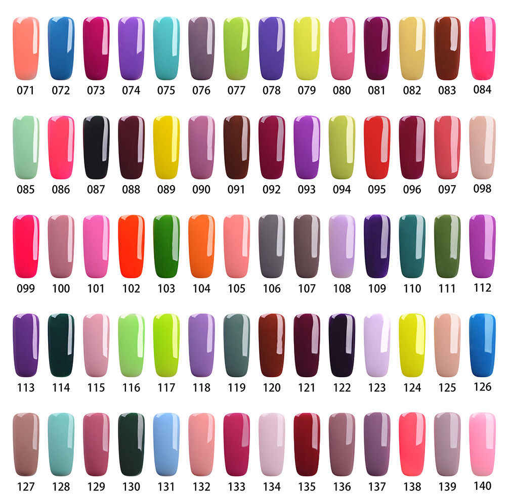 Rs Nail Glitter Gel Nail Polish 308 Colors Vernis Semi Permanent 15ml Esmalte Permanente A Set Of Gel Varnish French Manicure 5 Aliexpress