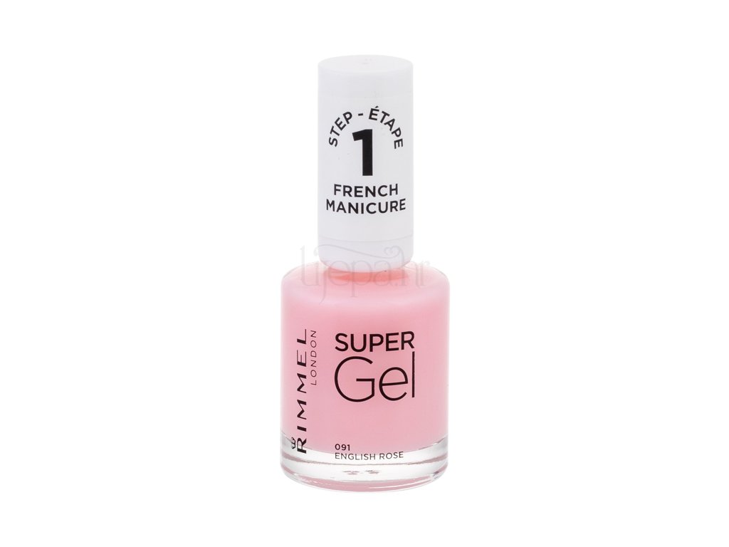 Rimmel London Super Gel French Manicure Step1 Lak Za Nokte Lijepa Hr