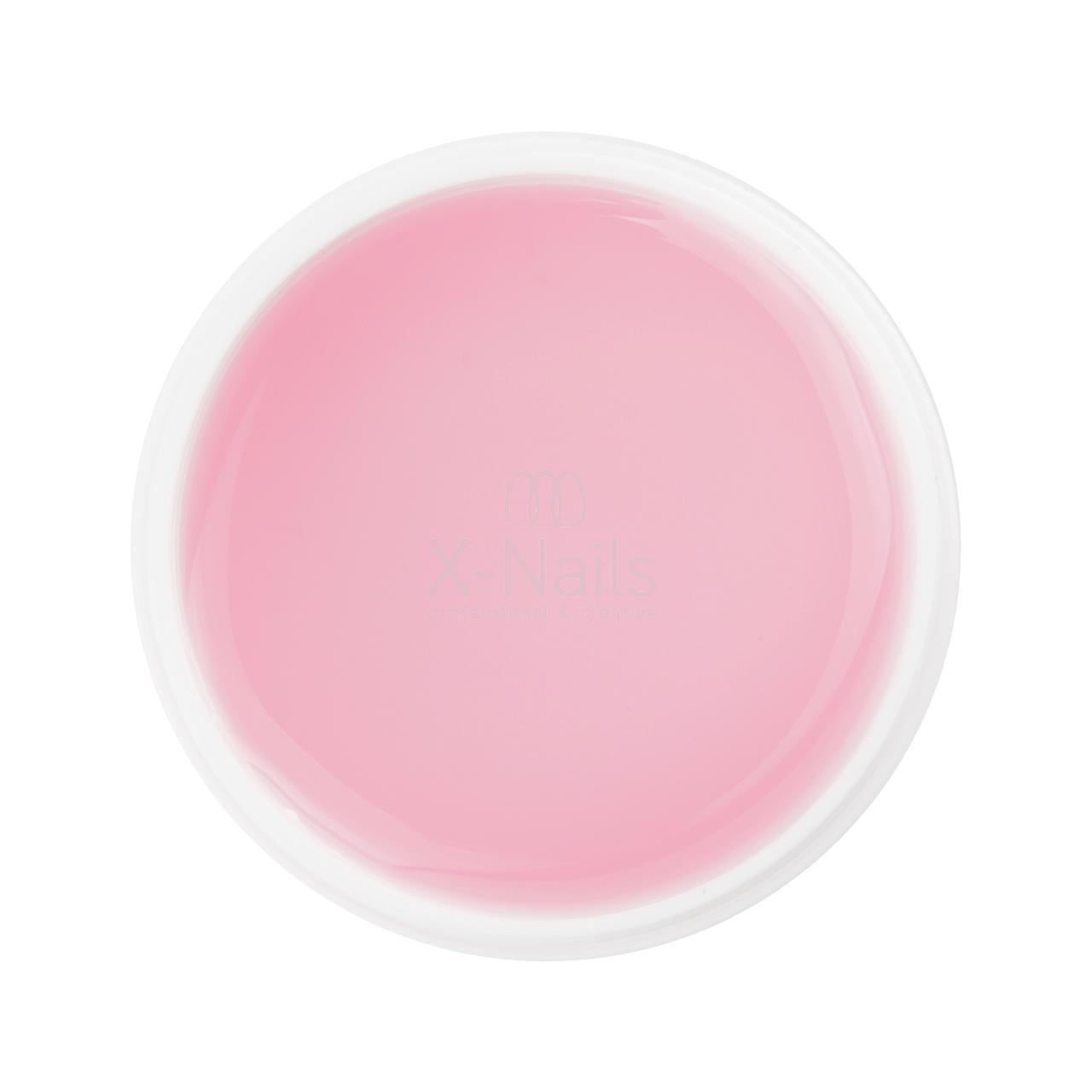 X Nails Stavebni Uv Gel Perfect Line 15 Ml Light Pink Clear Naruzovely X Nails Gelove Akrylove Nehty