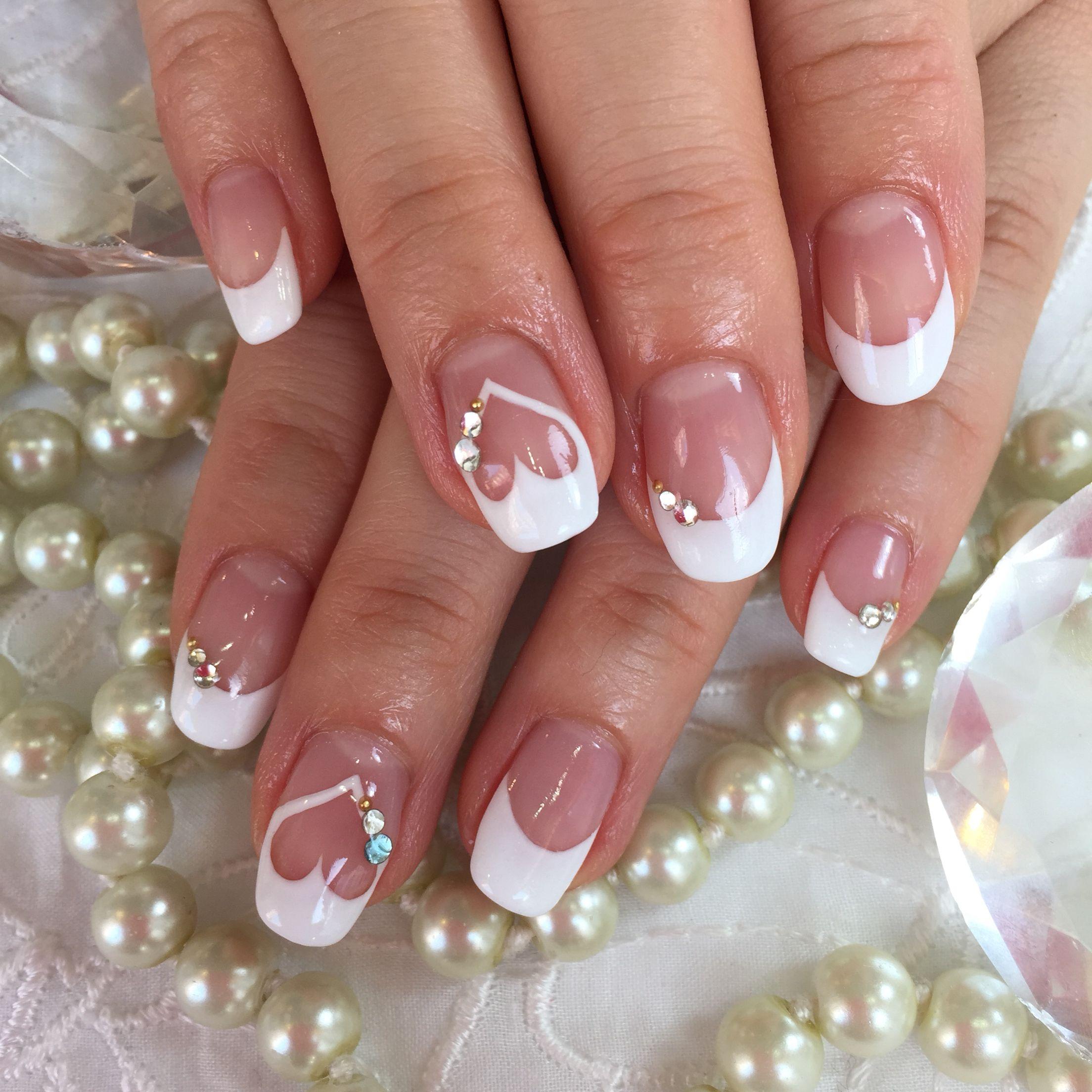 This Is My Real Wedding Nail Design Nehtu Bile Nehty Svatebni Nehty