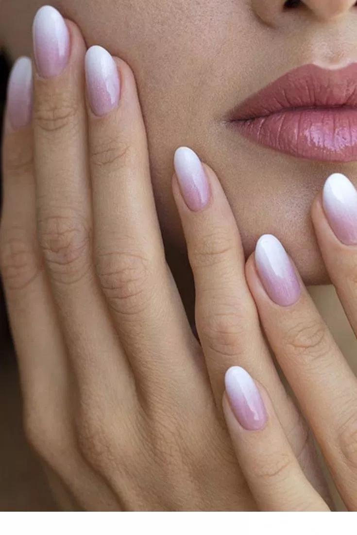 50 Wedding Natural Gel Nails Design Ideas For Bride 2019 52 Ombre Nehty Svatebni Nehty Gelove Nehty