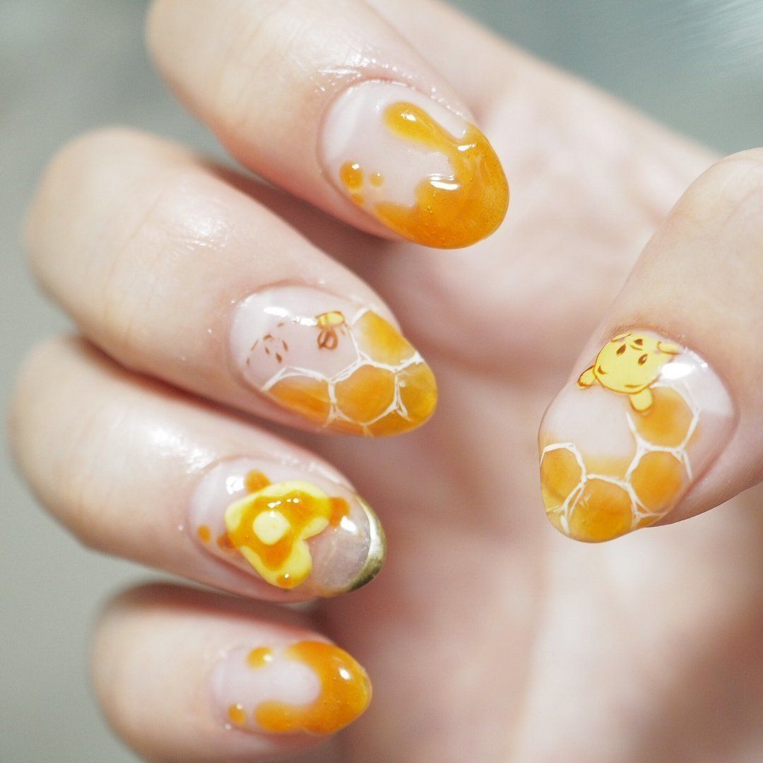 45 Beautiful Detailed Disney Nail Art Suitable For Your Daughter Nehty Mickey Mouse