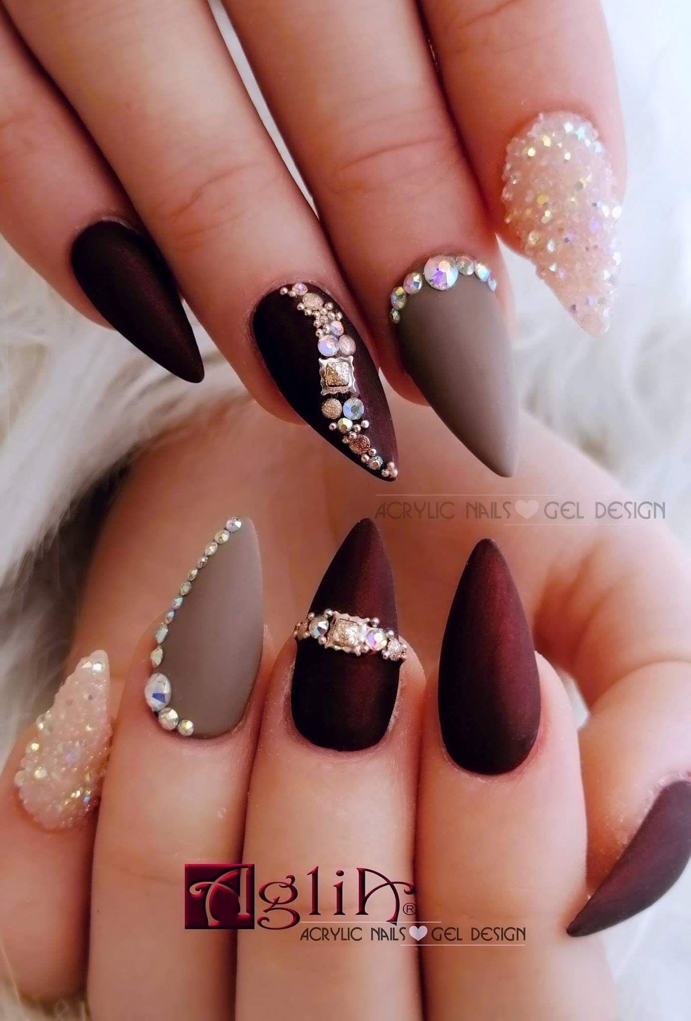 Acrylic Nails Gel Design Nehty