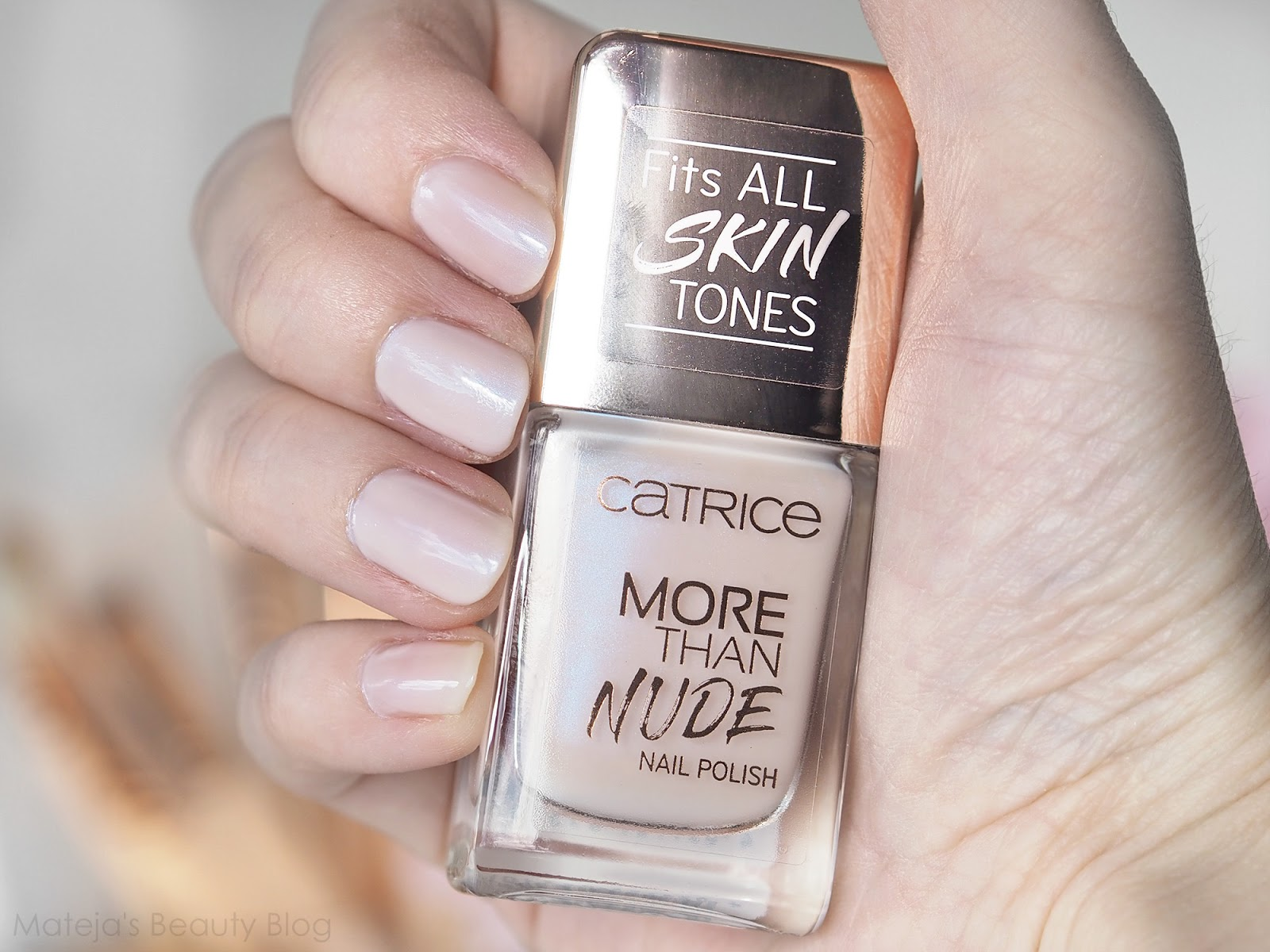 Catrice More Than Nude Nail Polish In Pearly Ballerina Mateja S Beauty Blog Bloglovin