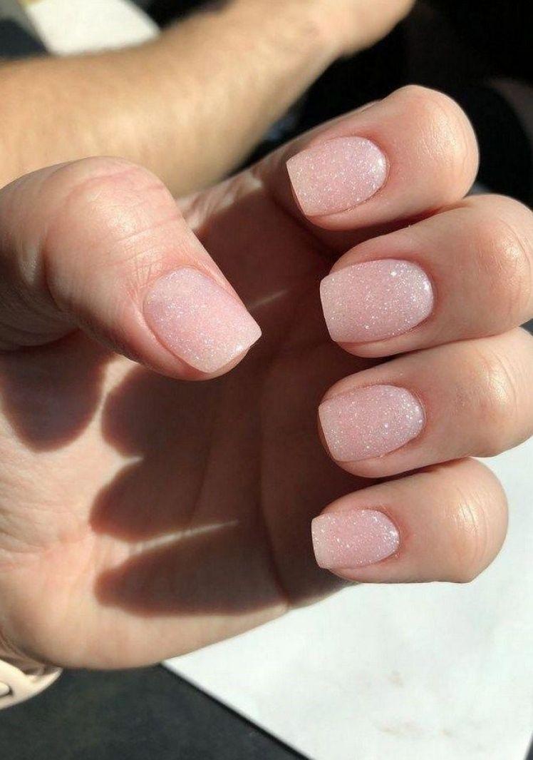 Dip Powder Natural Nails Colors Powder Colors Nails Natural In 2020 Umele Nehty Nehty Akrylove Nehty