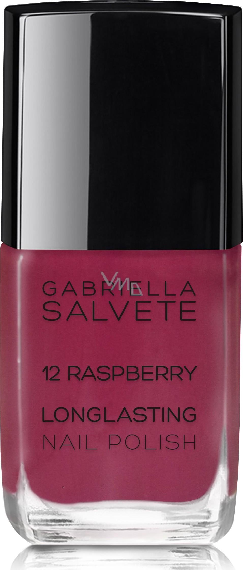 Gabriella Salvete Longlasting Enamel Dlouhotrvajici Lak Na Nehty S Vysokym Leskem 12 Raspberry 11 Ml Vmd Drogerie A Parfumerie