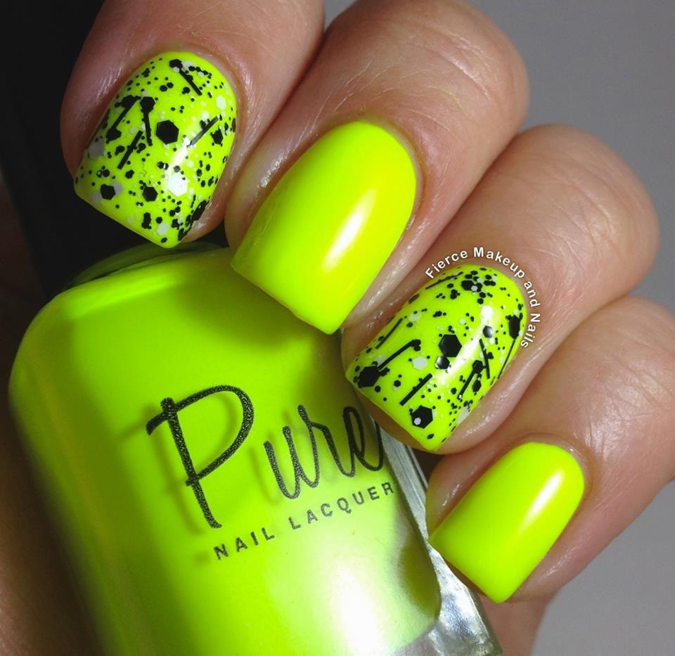 Neon Nails Good Summer Colour Duhove Nehty Gelove Nehty Nehty
