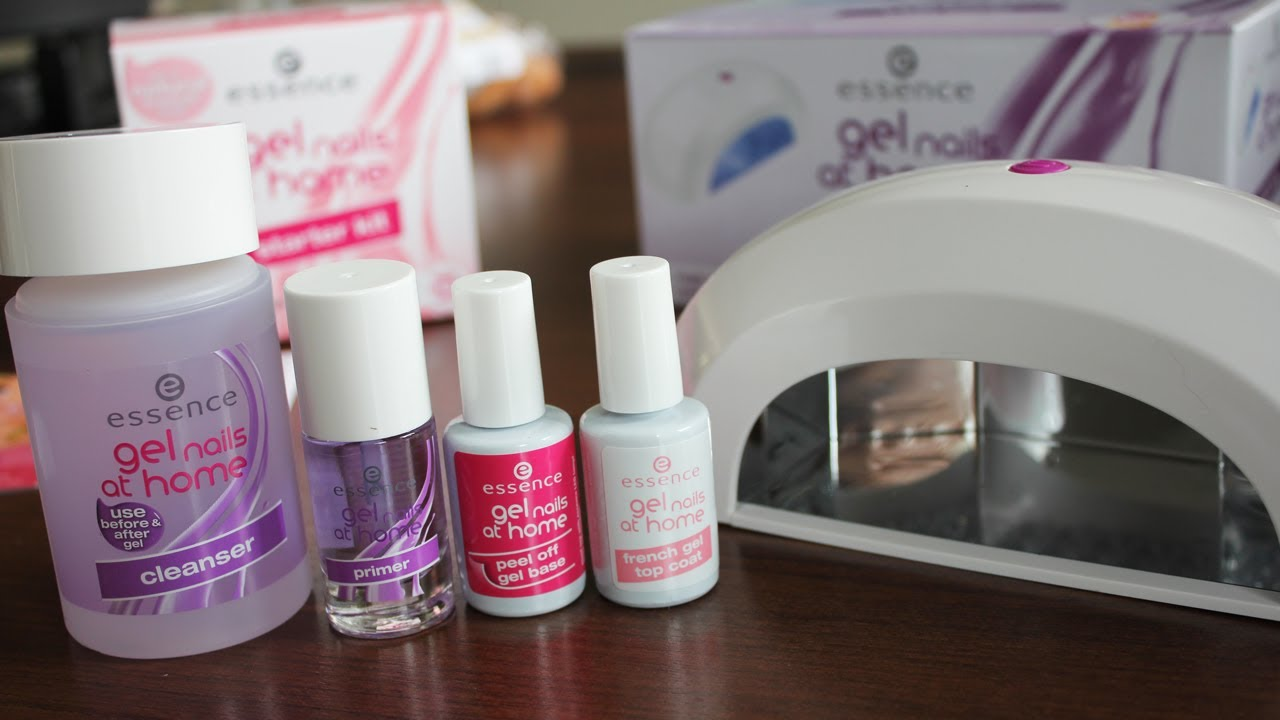 Essence Gel Nails At Home How To Review Make Up 40 Debbie Zwiers Youtube