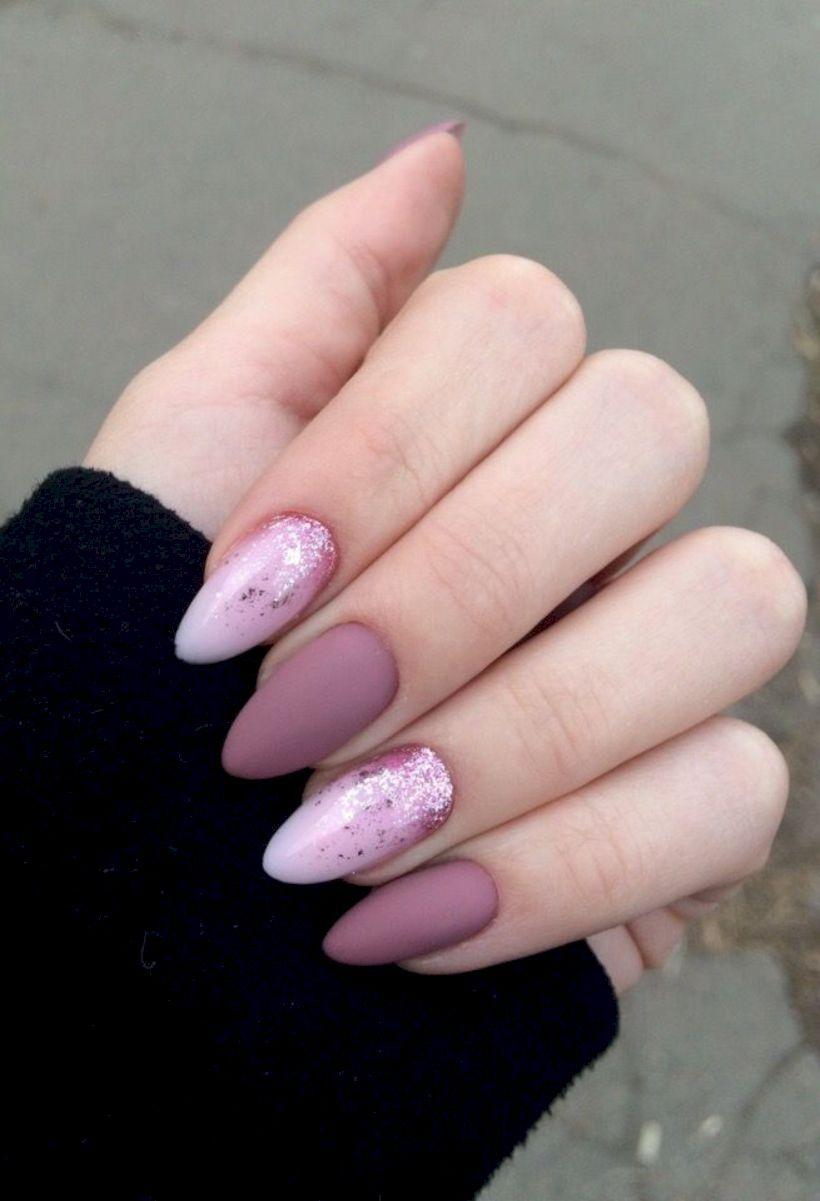 52 Unusual Acrylic Nail Designs Ideas Vanocni Akrylove Nehty Ruzove Nehty Pekne Nehty