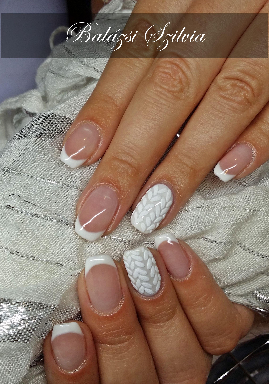 Pulcsis Gel Lakk French Nails Fashion Nails Nails