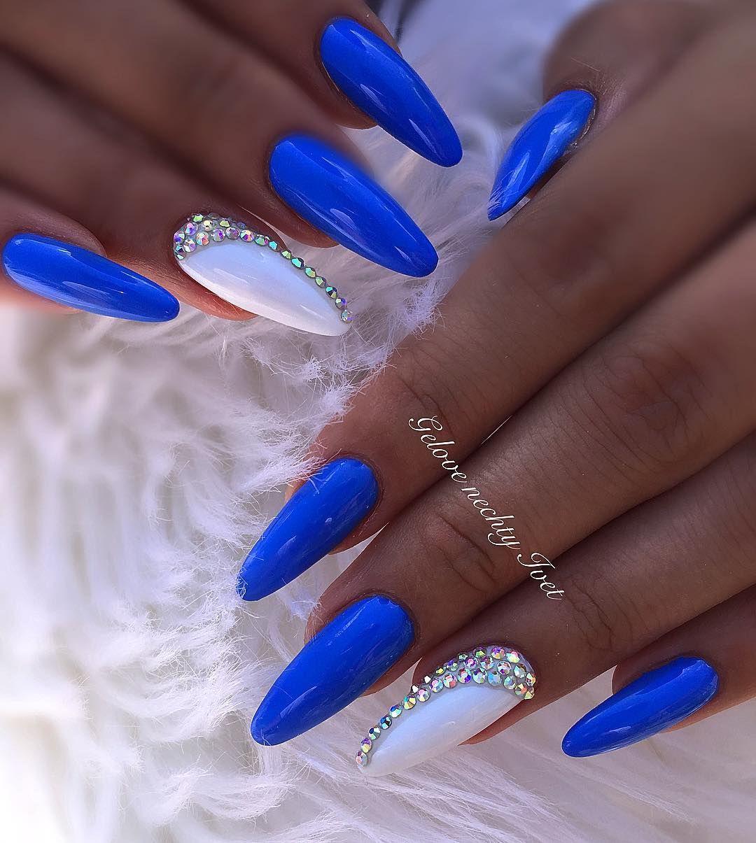Gelové Nehty Modré
