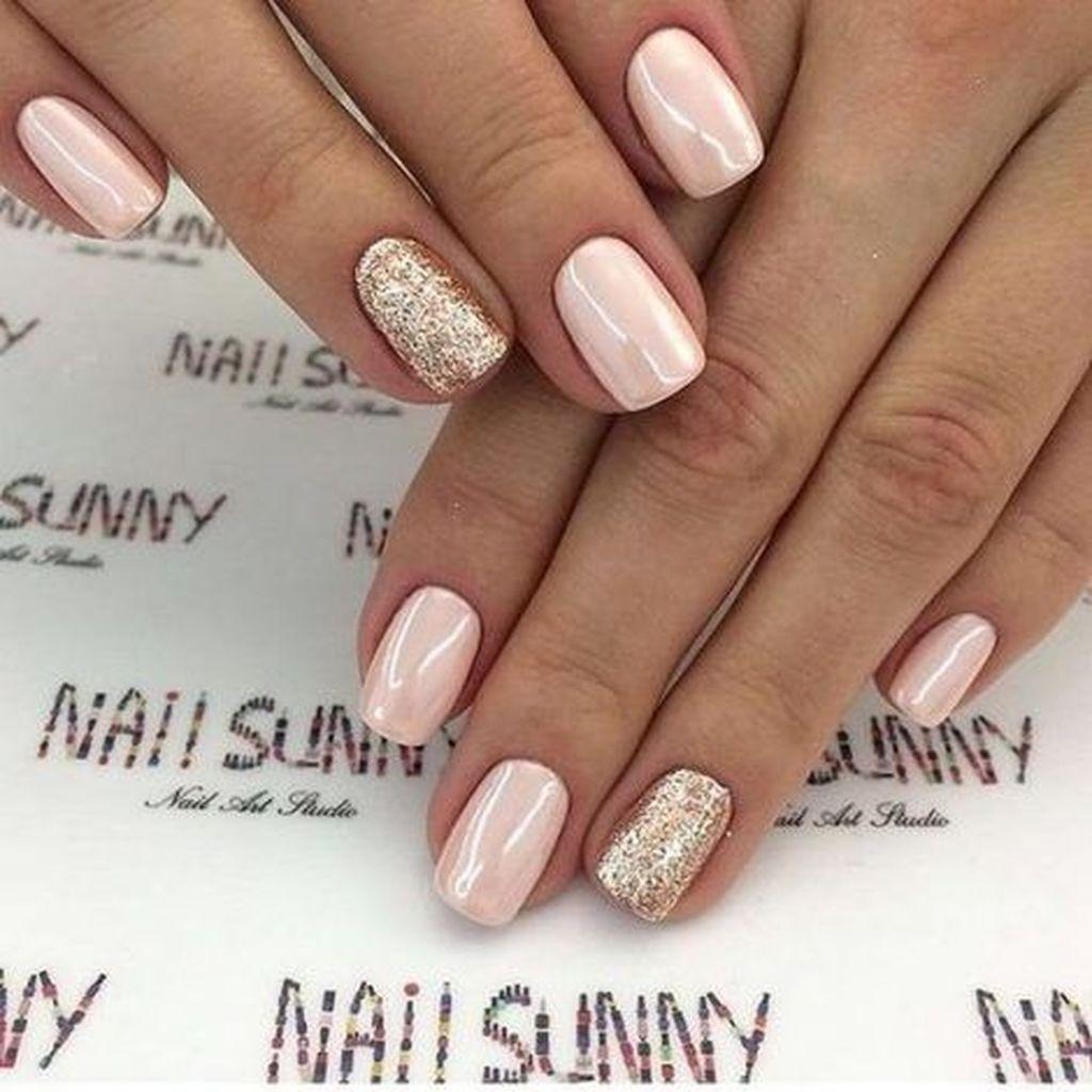 40 Easy But Cool Women Spring Style With Short Nails Gelove Nehty Design Nehtu Kratke Nehty