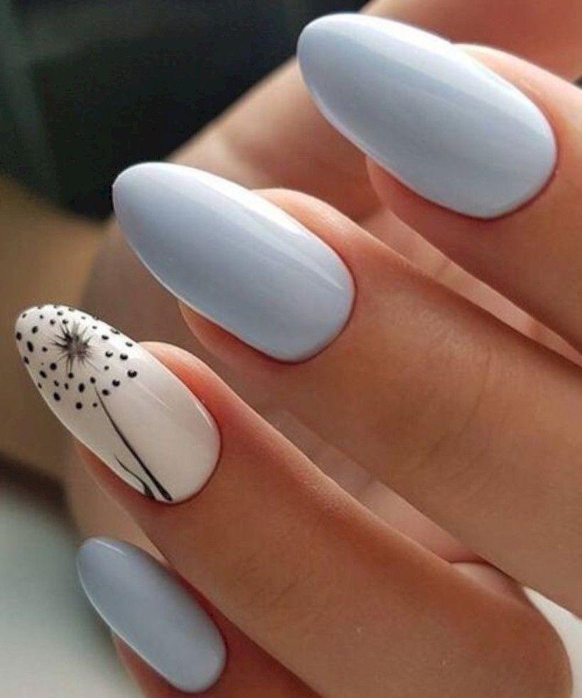36 Most Popular Nail Art Design 2019 Kvetinove Nehty Design Nehtu Gelove Nehty
