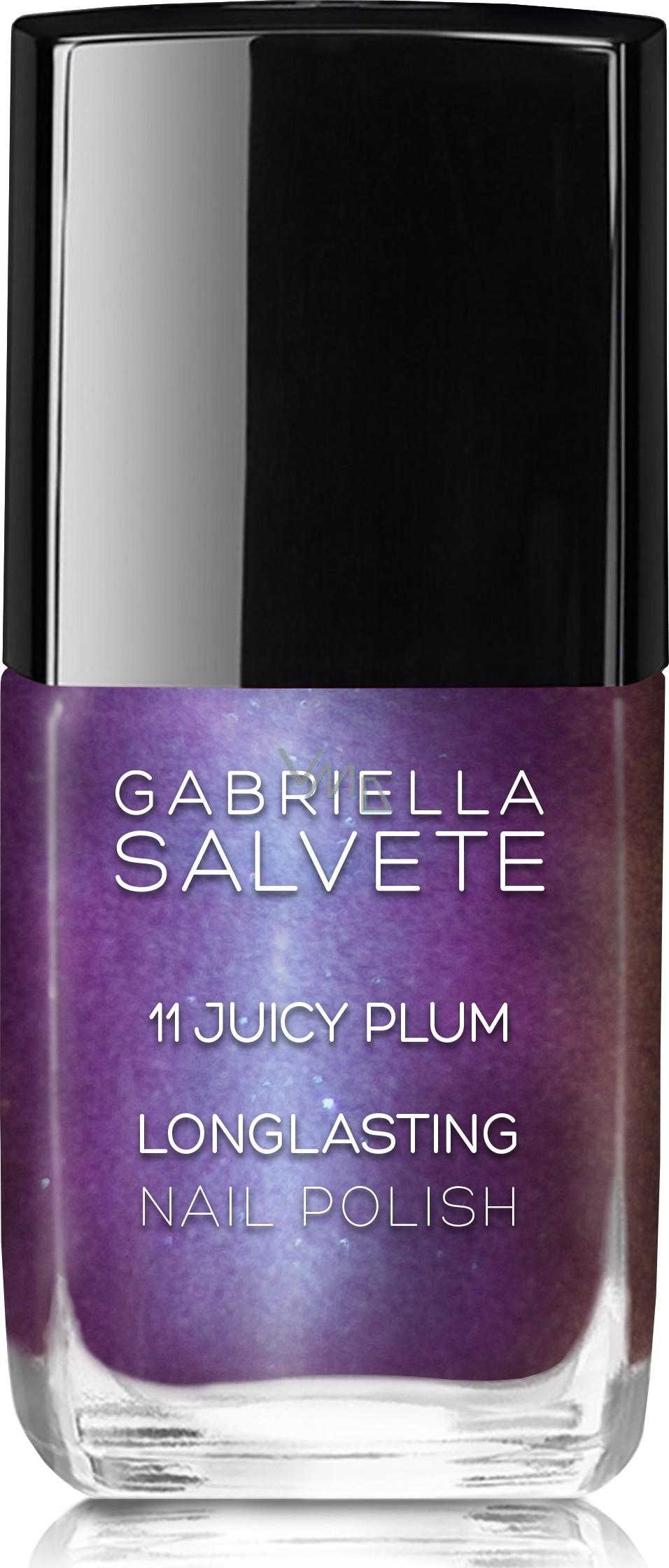 Gabriella Salvete Longlasting Enamel Long Lasting High Gloss Nail Polish 11 Juicy Plum 11 Ml Vmd Parfumerie Drogerie