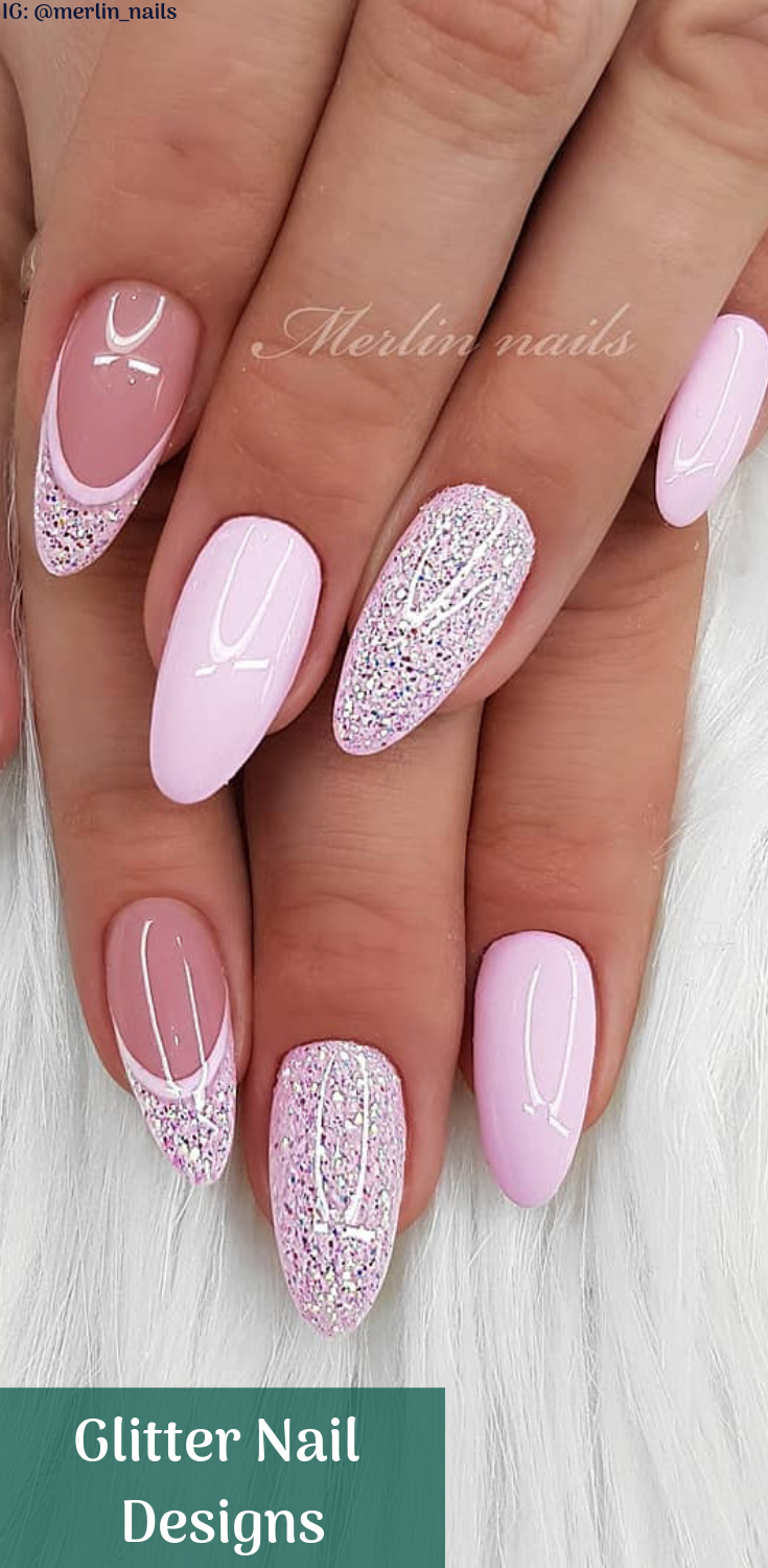 Glitter Nail Designs Polish Light Almost No Smell Only Top Coat And Foundation Have Moderate Odor Hotting Colors Op Gelove Nehty Design Nehtu Barevne Nehty