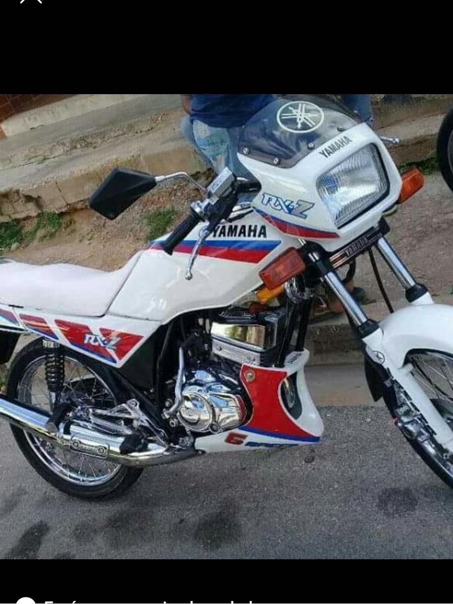 Moto Yamaha Modelazo Rxz 135