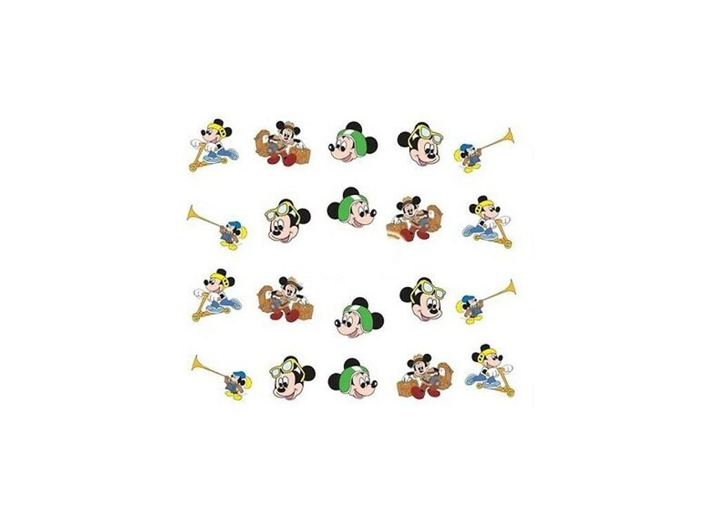 Nálepky Na Nehty Mickey Mouse
