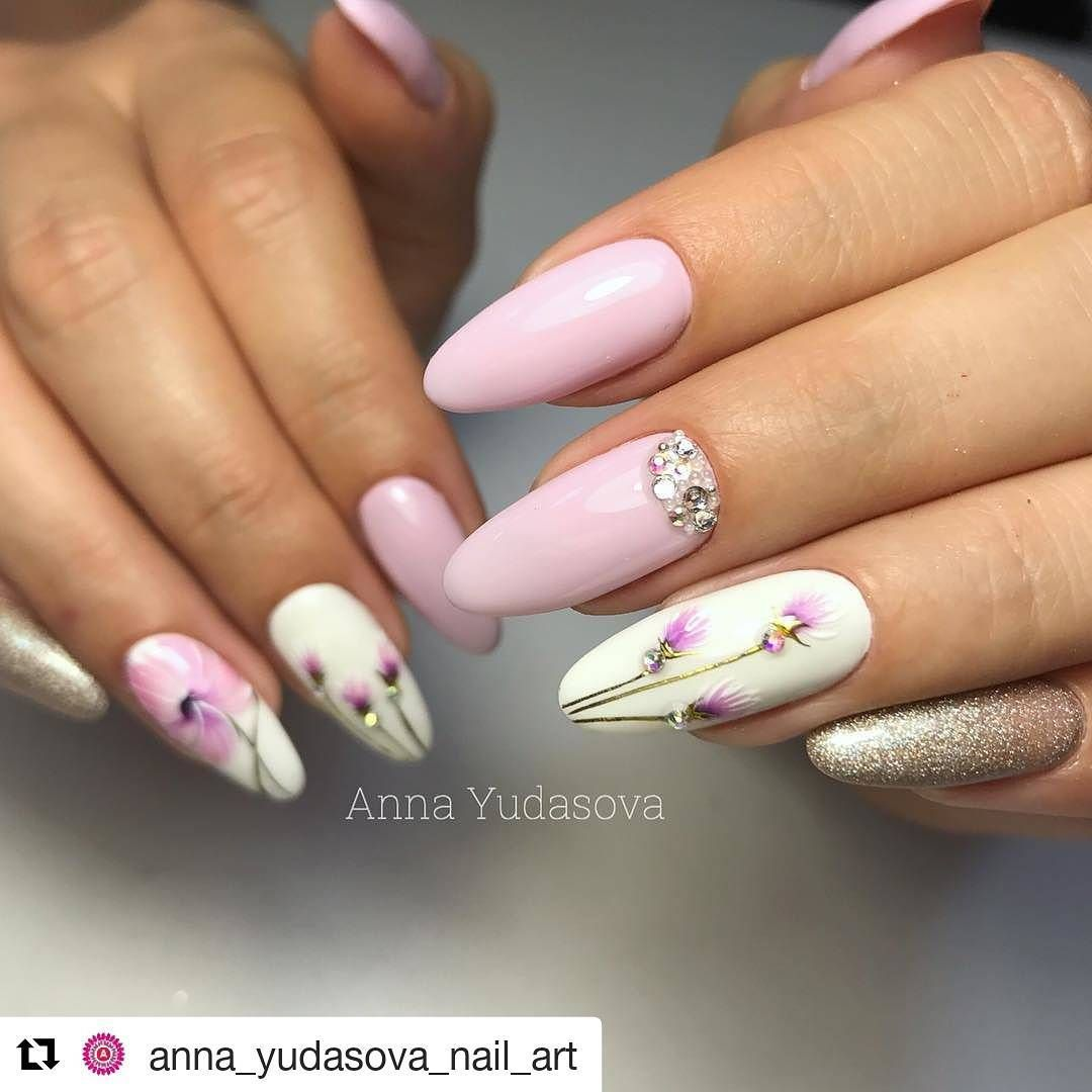 50 Cool Summer Nail Art Ideas For 2018 Nechtovy Dizajn Manikura Gelove Nechty