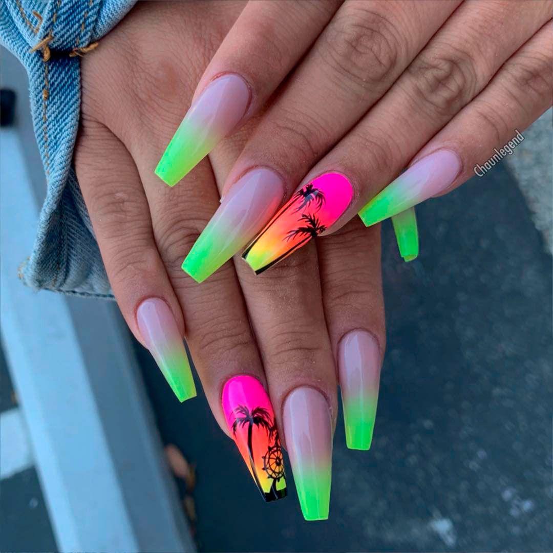 Best Nails For Summer 2019 Gelove Nechty Nechty Nechty Na Leto