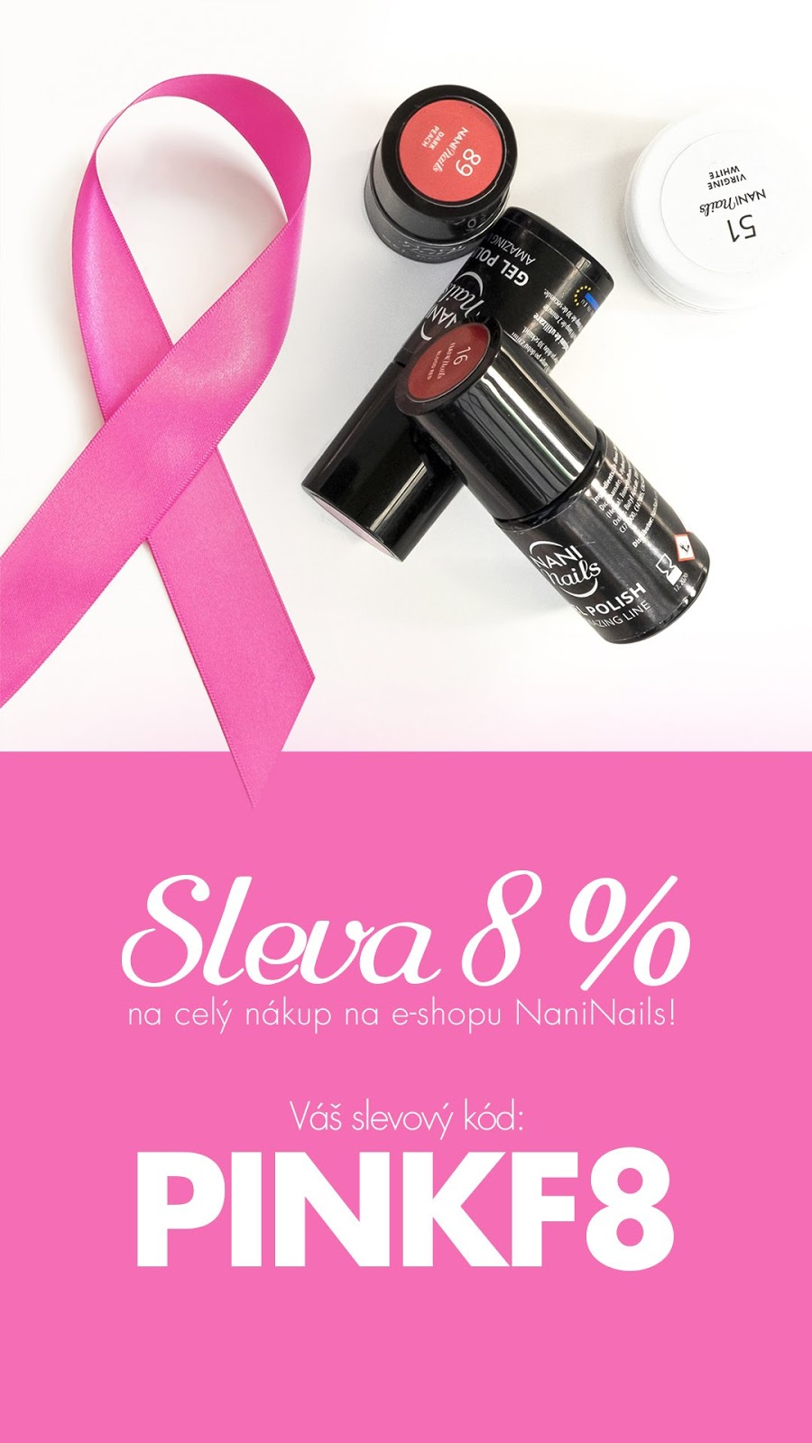 All My Cosmetics Pink Friday S Naninails Sleva Navic Pro Vas