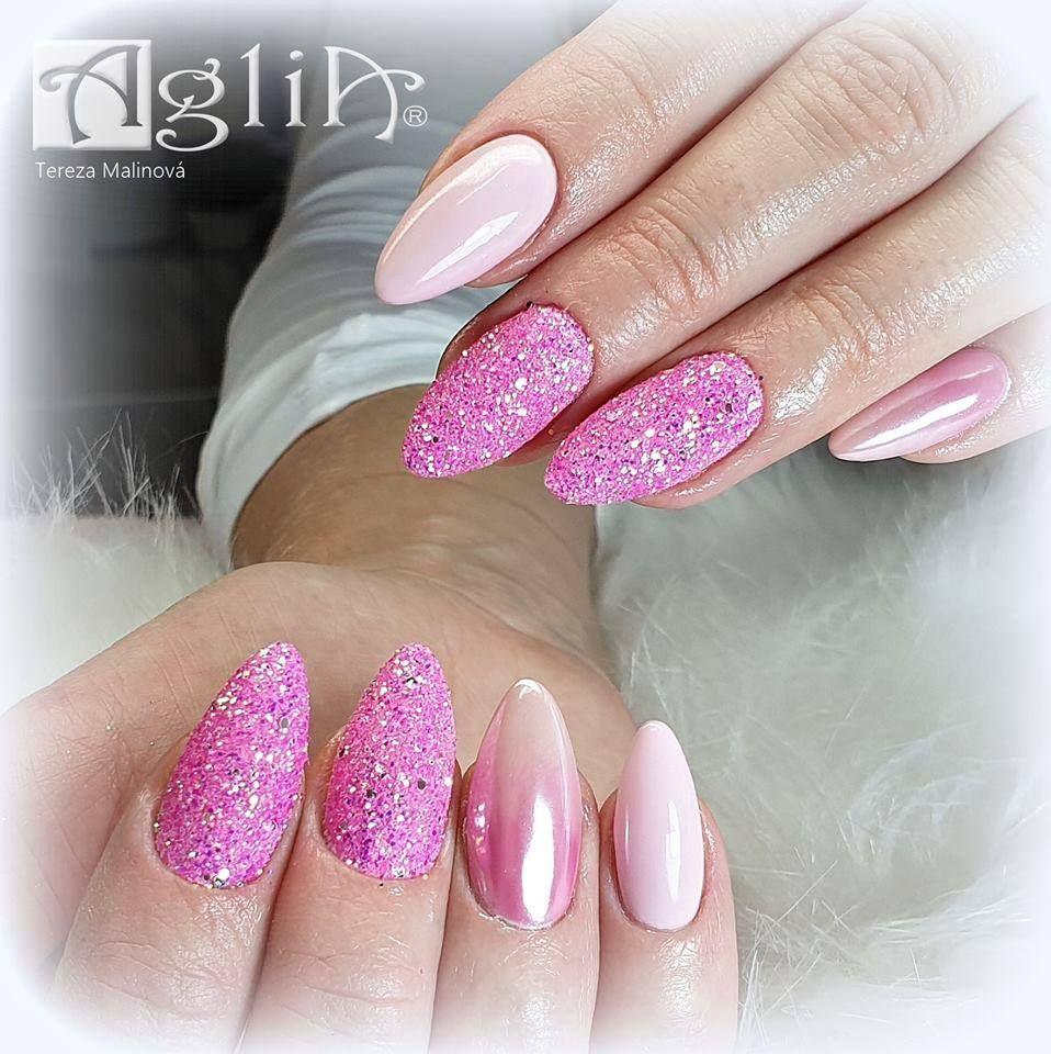 Světle Růžové Nehty