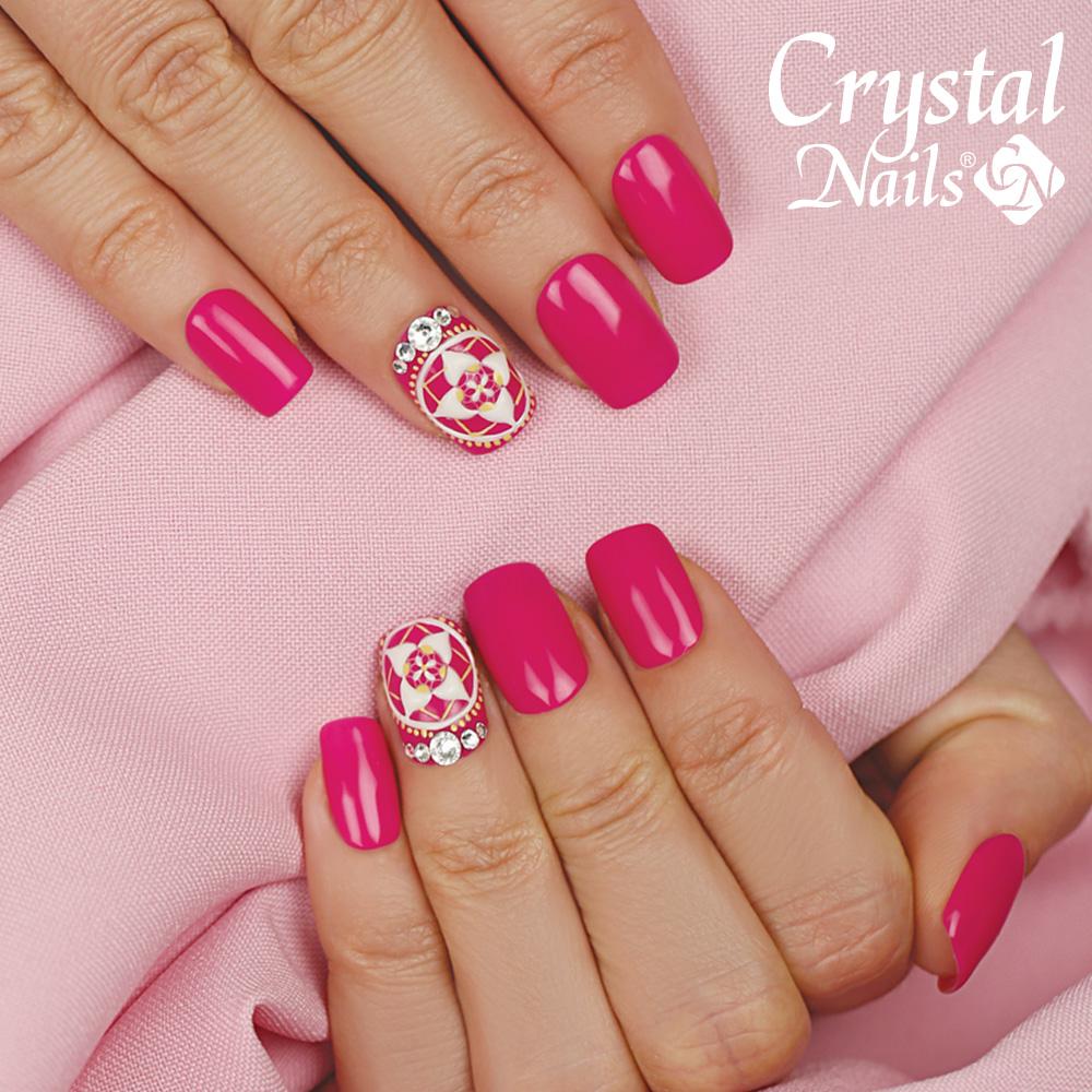 3 Step Crystalac 3s65 8ml Gellakk Gel Lakk Klasszikus Rugalmas Leoldhato Harom Lepes Rozsaszin Pink Fukszia Lakkzsele 3step Francia Fuchsia