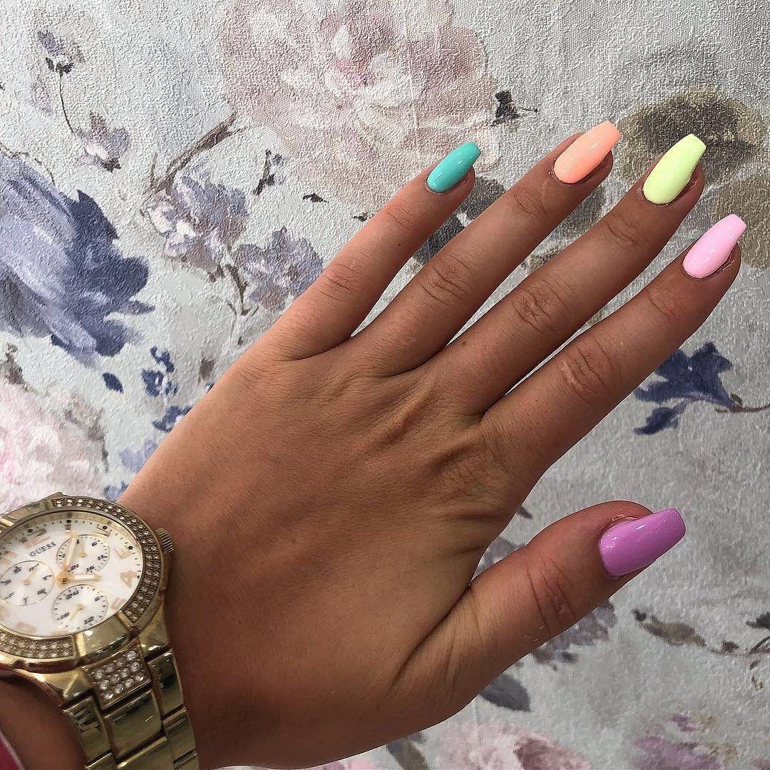 Summernails Inspo Loving Pastel Shades This Summer Nails Pastelnails Castleknock Blanchardstown Clonsilla Dublin Dm For Appo Gelove Nehty Nehty