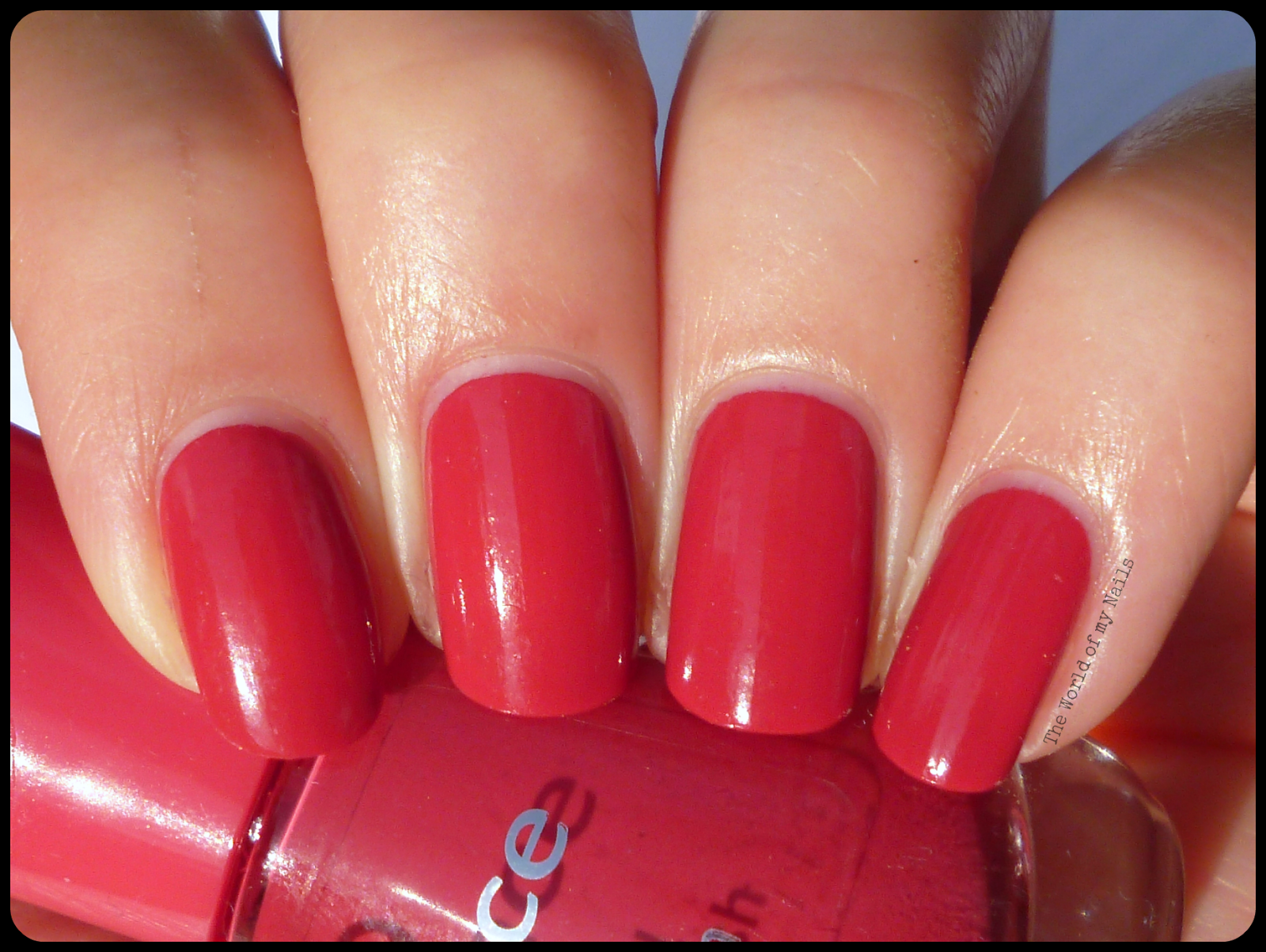 The World Of My Nails Essence The Gel 92 Red Carpet