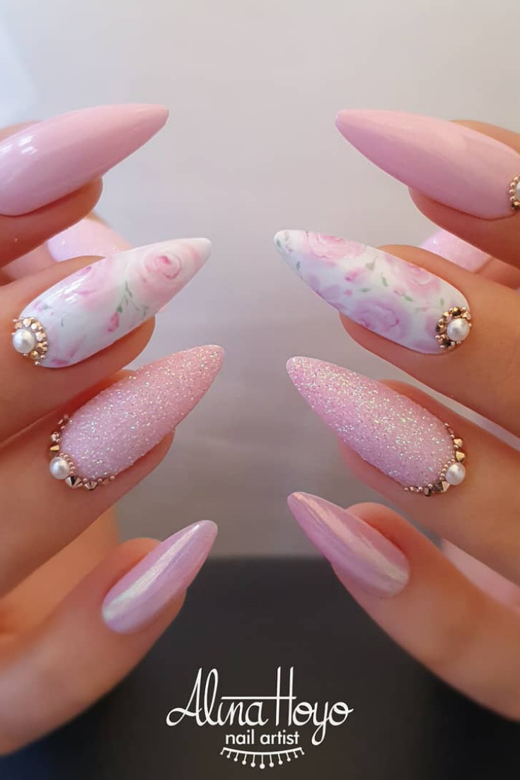 30 Hottest Nails Collection 2019 To Make You Look Trendy This Year Fialove Nehty Gelove Nehty Nehty