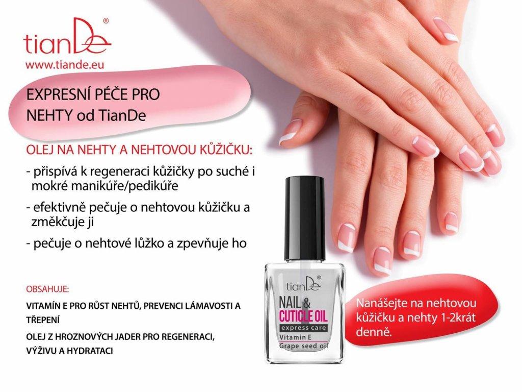Nail Cucitle Oil Olej Na Nehty Kosmetika Tiande Vas Spolehlivy E Shop