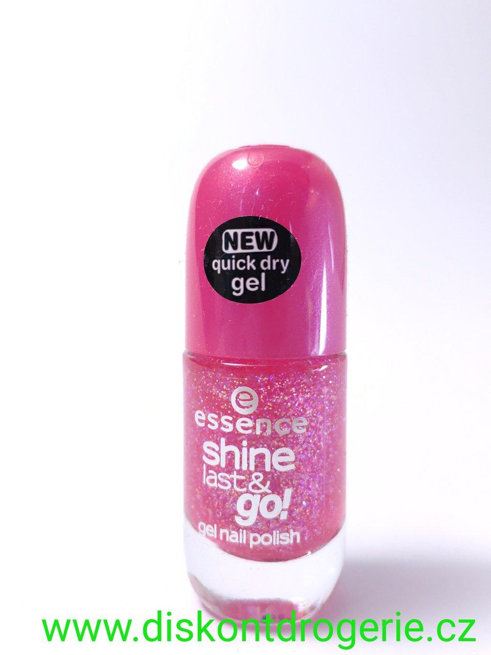 Essence Lak Na Nehty Shine Last And Go 07 Drogerie Parfemy Bio Produkty
