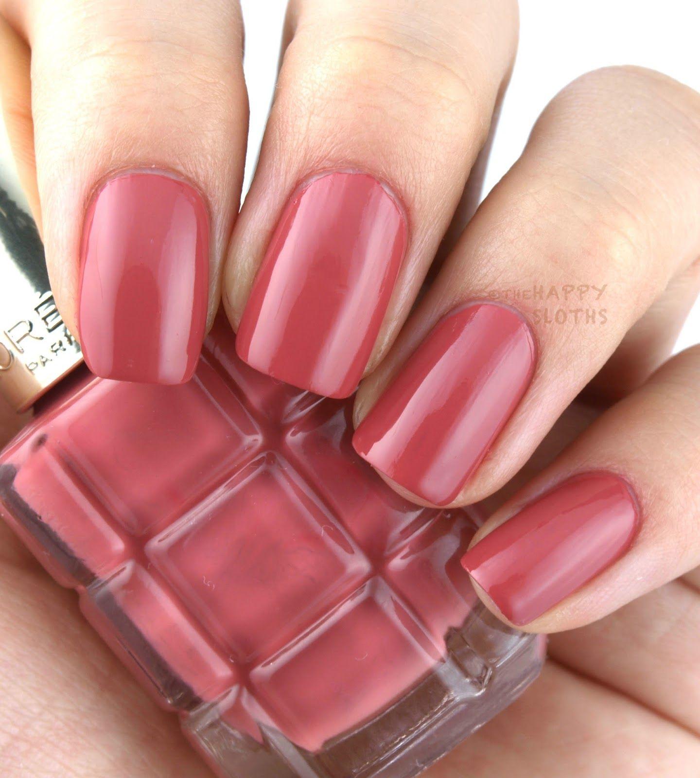 L Oreal Color Riche Le Vernis A L Huile Nail Polish Rose Ballet