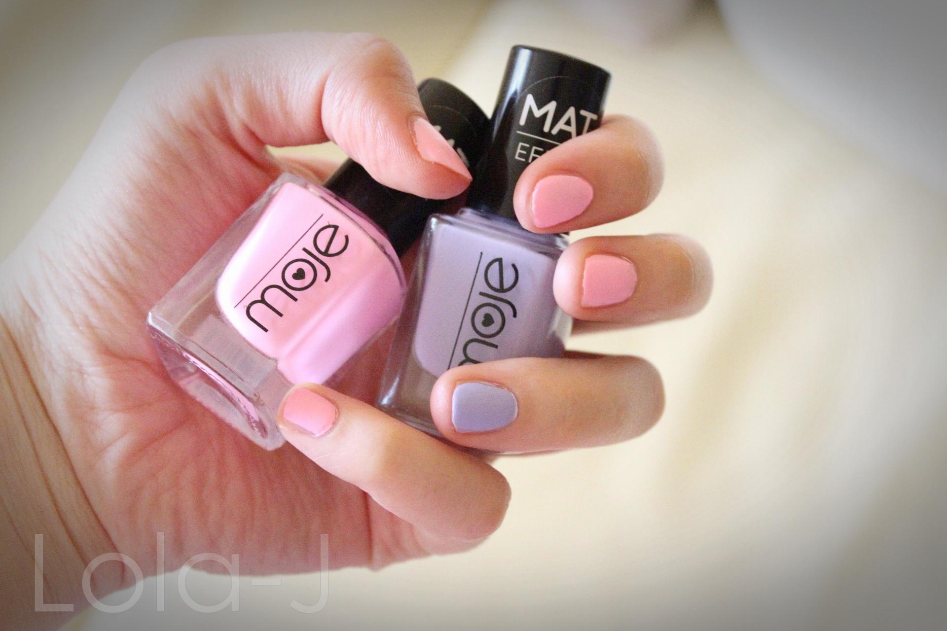 Nove Laky Na Nehty Mat Efekt Kosmetika Moje Lola J