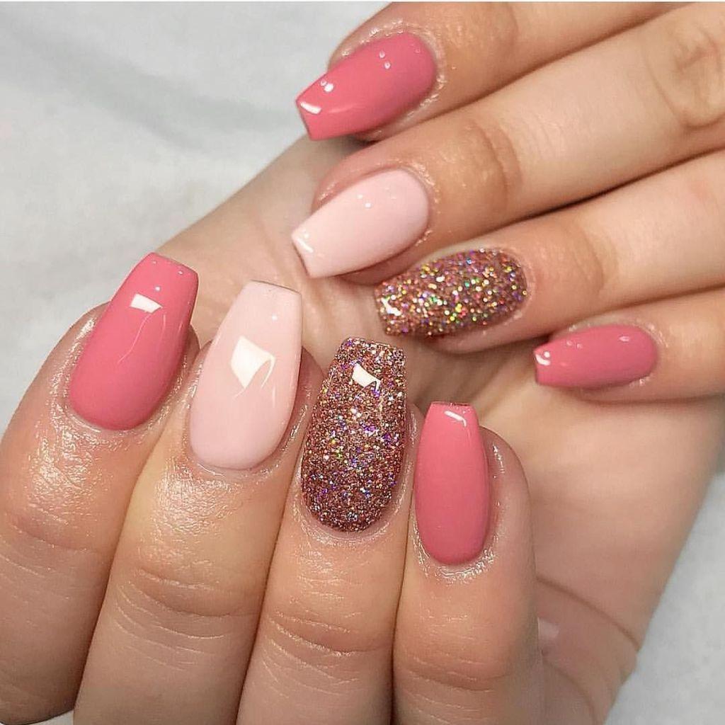 40 Precise Combinations Design And Color For Summer Nail Art Pekne Nehty Vzory Na Akrylove Nehty Umele Nehty