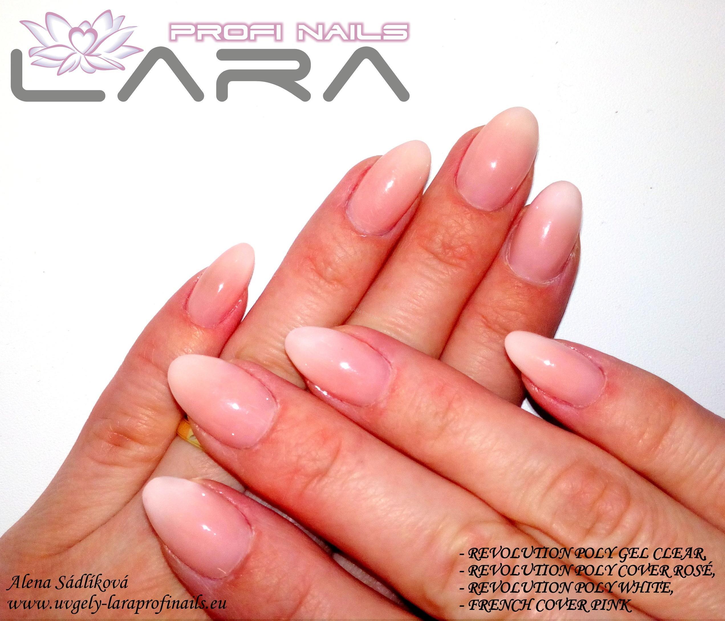 Revolution Poly White Gel 5 Ml Lara Profi Nails Vyzkousej Profi Kvalitu