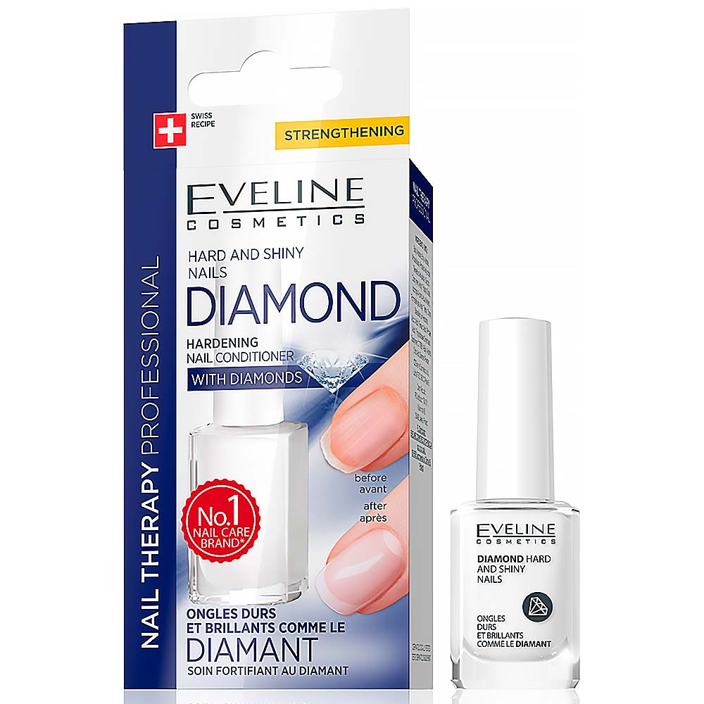 Eveline Nail Therapy Diamond Hardness 12 Ml Mojalekaren Sk