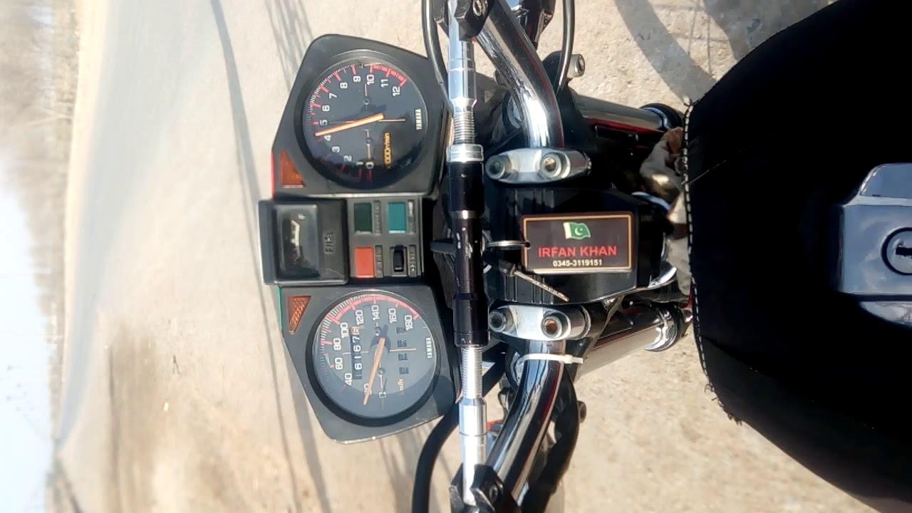 My Bike Yamaha Rxz 135 6 Speed Youtube