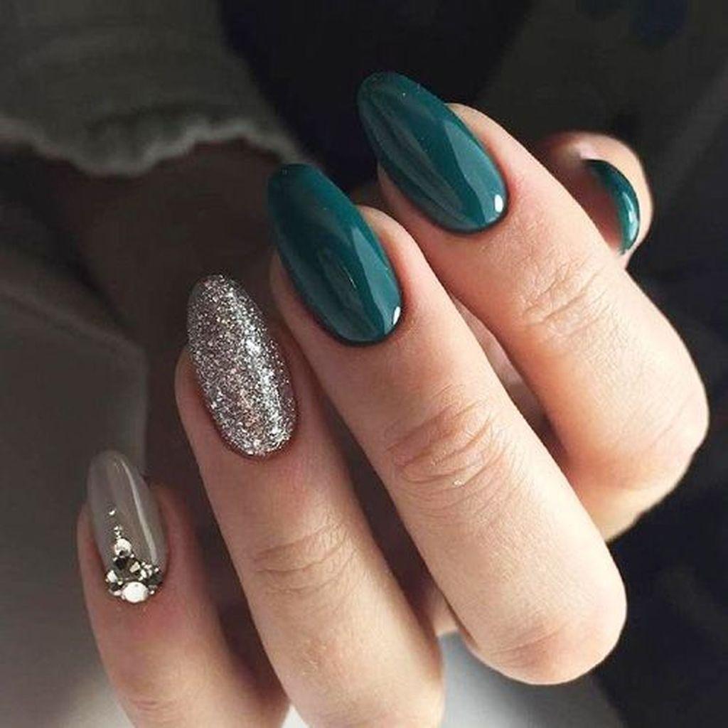 30 Casual Acrylic Nail Art Designs Ideas To Fascinate Your Admirers Zelene Nehty Cervene Nehty Gelove Nehty